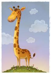 jirafa ilustracion