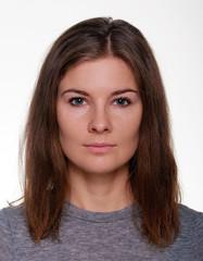 Woman portrait close-up photo