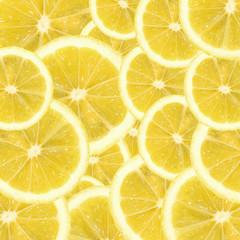A slices of fresh lemon texture