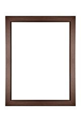 Modern Brown Photo Picture Frame Or Photoframe Border
