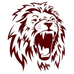 Lion Angry
