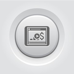 Video Lessons Icon. Business Concept