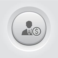 Mentor Icon. Business Concept