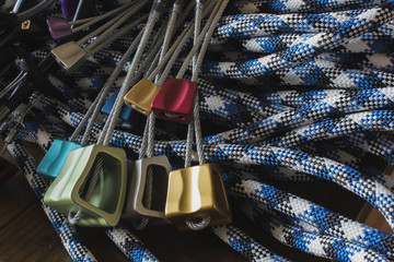 Rock Climbing Protection: Nuts, Quickdraws, and Rope
