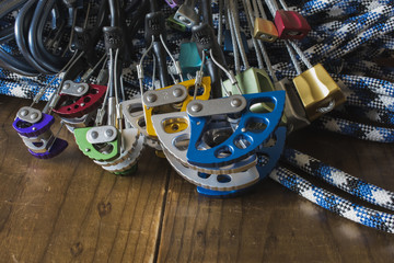 Rock Climbing Protection: Nuts, Cams, Quickdraws, and Rope