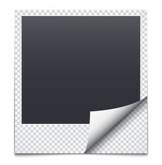 Black frame with checkered paper
