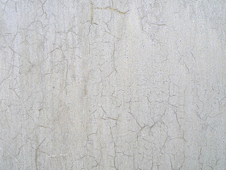 Close-up of cracked paint on the wall