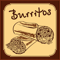Burritos vector