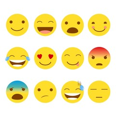 12 Set of Emojis