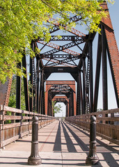 Historic Trestle Train Bridge