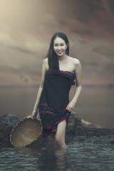 The beauty of Asian women