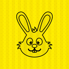 cute rabbit  design