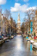 Fotobehang Amsterdam South Church Zuiderkerk Amsterdam