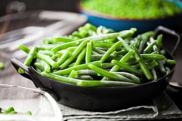 Erbsen und verschiedenes eingefrorenes Gemüse