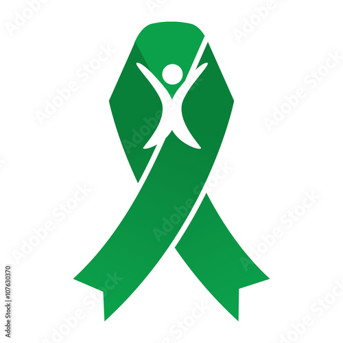 Green Person Ribbon Breast Cancer Ribbons With Different Differing