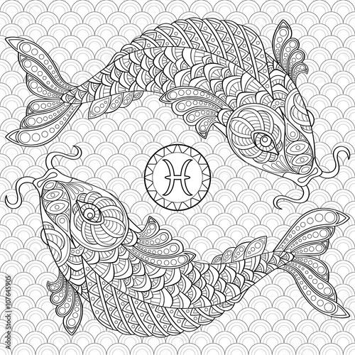 Pisces Koi Fish Chinese Carps Adult Antistress