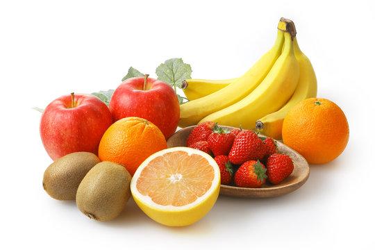 フルーツの集合イメージ Fruit set