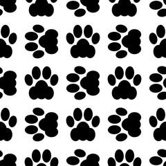 cat paw seamless
