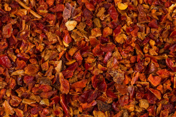Crushed red chili pepper