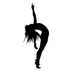 dance silhouette modern