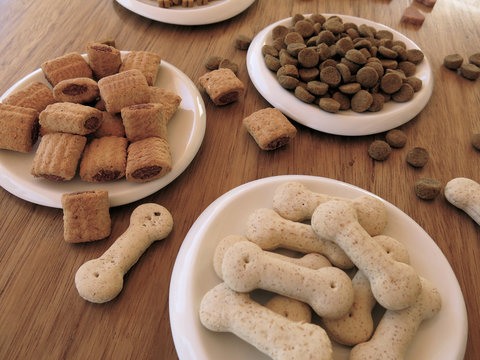 Amor por mi mascota. Snacks sabrosos para perros y cachorros.