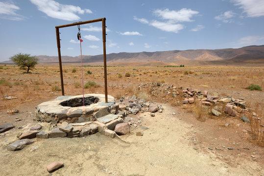 Water well in Sahara Desert, Morocco