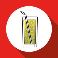 cocktail icon design , vector illustration