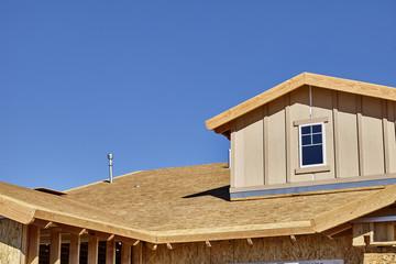 Home building construction carpentry dormer roof framing transit
