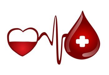 blood donation - medical concept