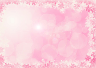 bokeh blurry natural abstract pink peach background