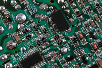 computer chip texture