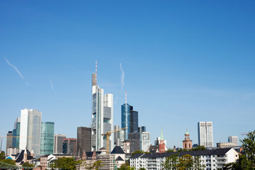Cityscape of Frankfurt am Main