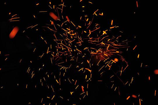 Fire spark light