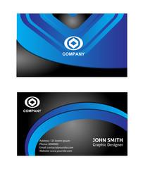 Vector business card set design