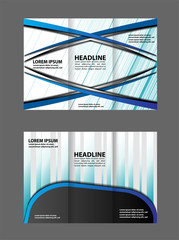 Abstract Tri-fold Brochure Template