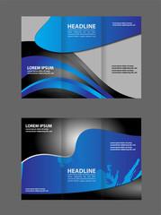 tri fold business brochure template