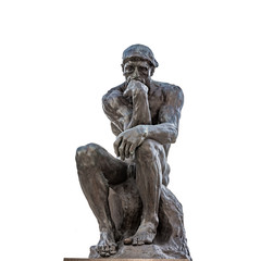 Auguste Rodin The Thinker sculpture