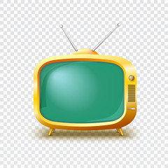 Old blank TV icon