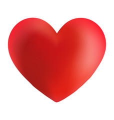 A Red Valentine Heart Icon