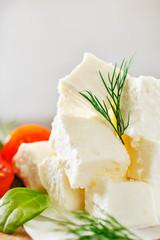 slices feta cheese