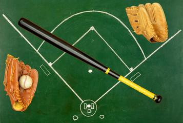 Baseball concept
