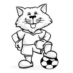 Wolf football player