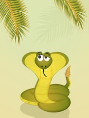 cobra in the jungle