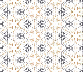 Moroccan background with abstract stars