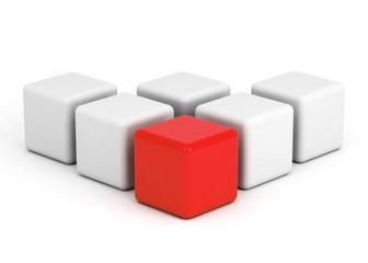 bright red box leadership
