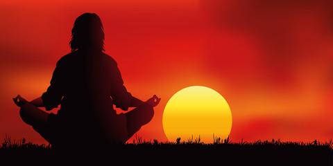 Zen - Coucher de soleil