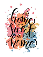"""Quote """"Home sweet home"""""""