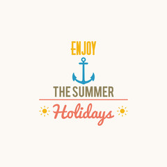 Summer Vacation label