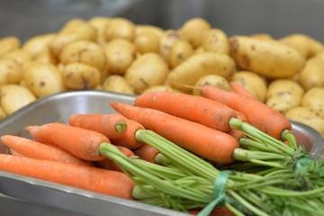 légumes rincés