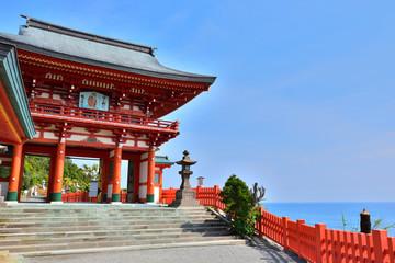 鵜戸神宮の門